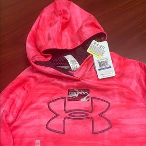 Under Armour Girls Youth XL Sweatshirt